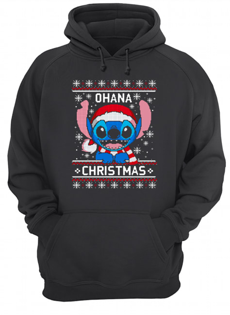 Lilo And Stitch Ugly Christmas  Unisex Hoodie