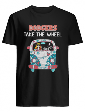 Los Angeles Dodgers Take The Wheel Hippie Car shirt