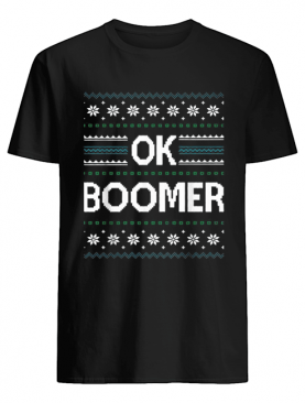 Ok Boomer Christmas shirt
