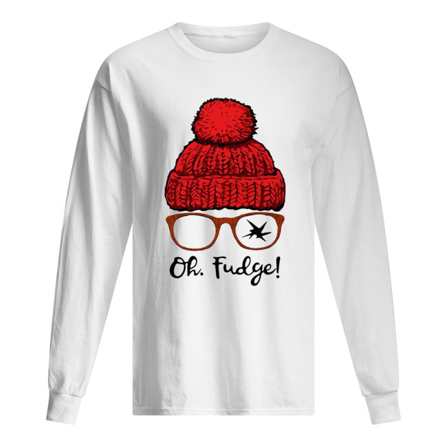 Ralphie Broken Glasses Oh Fudge  Long Sleeved T-shirt