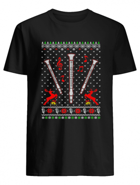 Santa Clarinet Ugly Christmas shirt