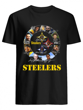 Signatures Pittsburgh Steelers Logo shirt