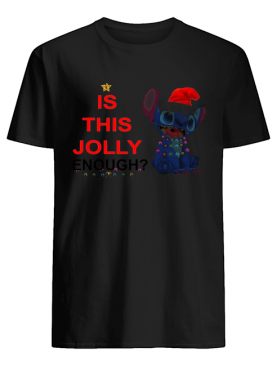 Stitch is this Jolly Enough shirt