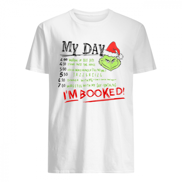 The Grinch My Day I'm Booked  Classic Men's T-shirt