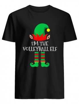 The Volleyball Elf Family Matching Group Christmas shirt