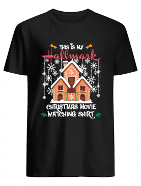 This Is My Hallmark Christmas Movie Watching Ginger House Blanket shirt