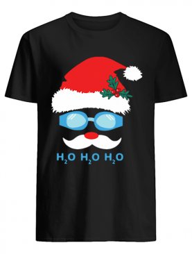 Water H20 Santa Claus Christmas shirt