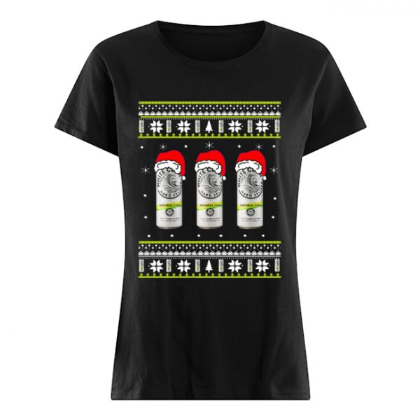 White Claw Natural Lime Ugly Christmas  Classic Women's T-shirt