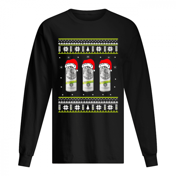 White Claw Natural Lime Ugly Christmas  Long Sleeved T-shirt
