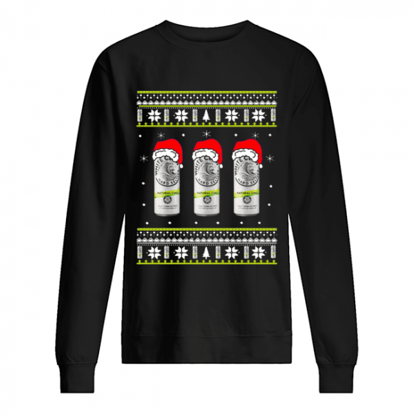 White Claw Natural Lime Ugly Christmas  Unisex Sweatshirt