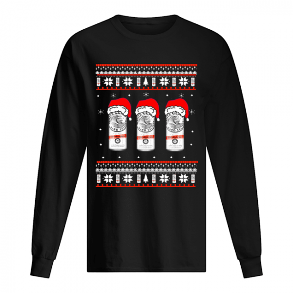 White Claw Ruby Raspberry Ugly Christmas  Long Sleeved T-shirt