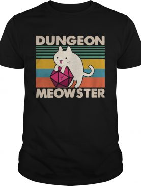 Cat dungeon meowster vintage shirt