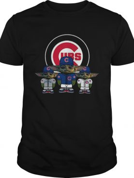 Chicago Cubs Baby Yoda shirt
