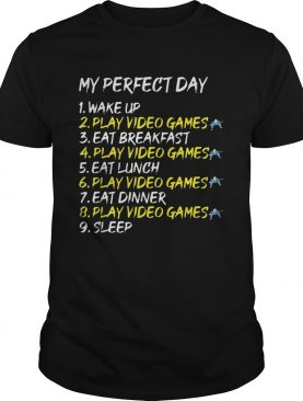 Gamer Perfect Day Video Game Console shirt
