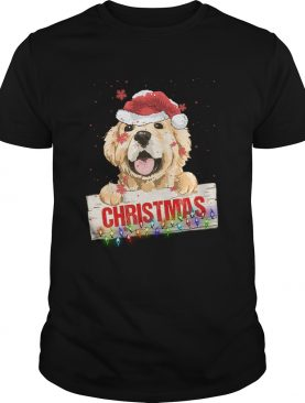 Golden Dog Christmas shirt