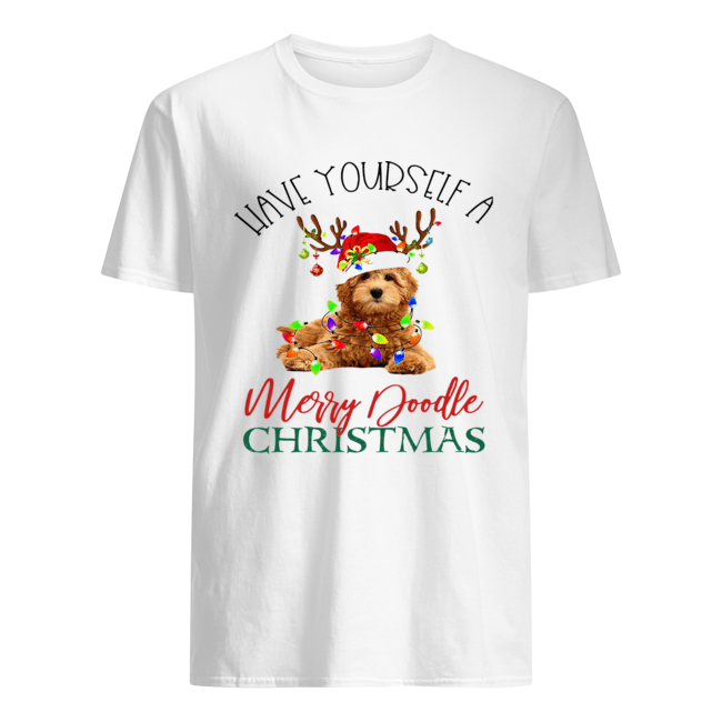 Have Yourself A Merry Doodle Christmas  Classic Men's T-shirt