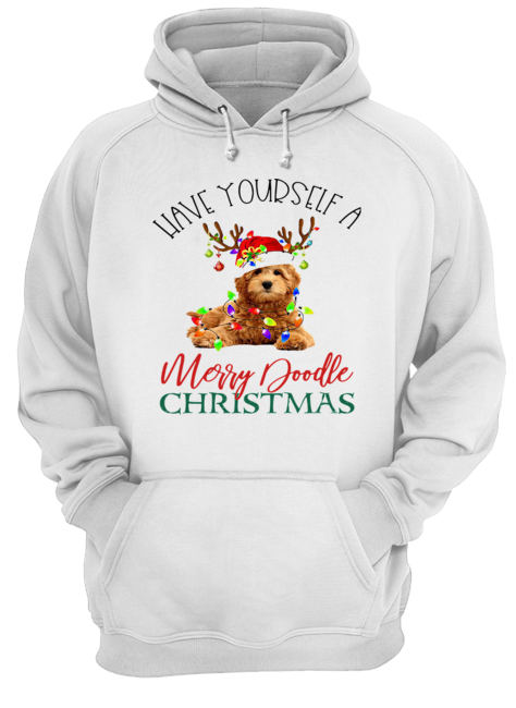 Have Yourself A Merry Doodle Christmas  Unisex Hoodie