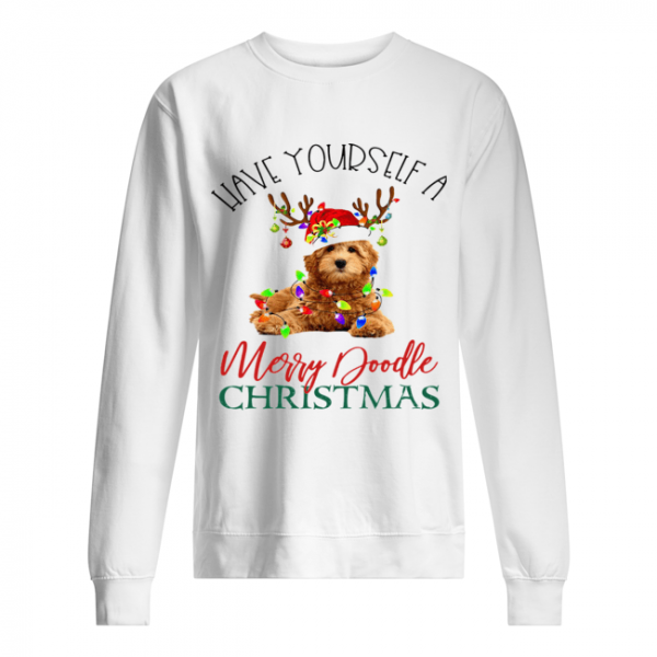 Have Yourself A Merry Doodle Christmas  Unisex Sweatshirt