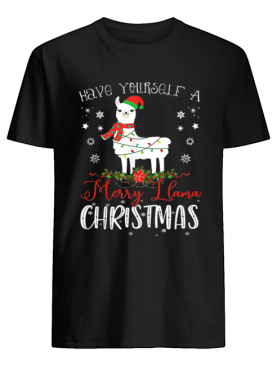Have Yourself A Merry Llama Christmas shirt