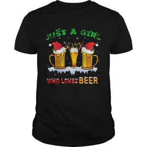 Just A Girl Who Loves Beer Christmas  Unisex