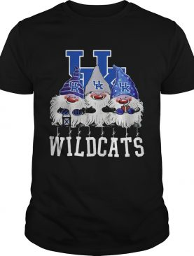 Kentucky Wildcats Santa Chibi Christmas shirt