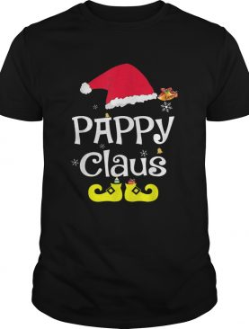 Merry Santa Pappy Claus Christmas Family shirt