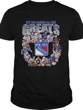 New York Rangers Alltime greats signature shirt