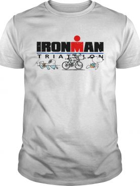 Snoopy Ironman Triathlon World Triathlon Corporation shirt