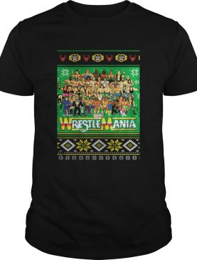 WrestleMania 3D Christmas shirt