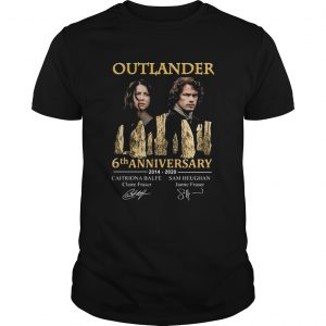 Outlander 6th Anniversary 2014 2020 Signatures  Unisex