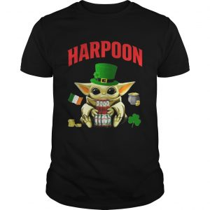 St Patricks Day Baby Yoda Hugging Celtic Ale Beer Harpoon  Unisex
