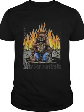 The Pray for Australia shirt