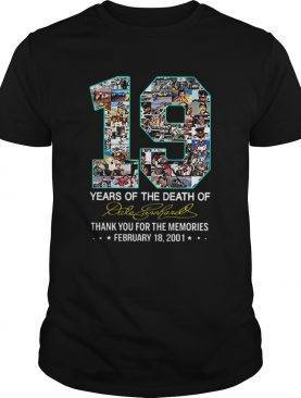 19 Years Of The Death Of Dale Earnhardt Signature shirt