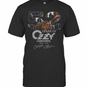 52 Years Of Ozzy Osbourne Signatures T-Shirt Classic Men's T-shirt