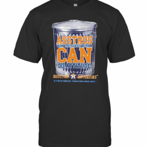 Can Do Attitude Houston Asterisks T-Shirt Classic Men's T-shirt