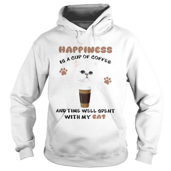 Coffee And Time Well Spent With Cat  Hoodie