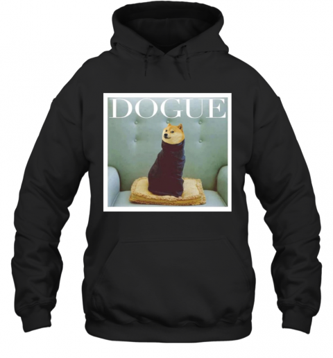 Dogue Fashion Dog T-Shirt Unisex Hoodie