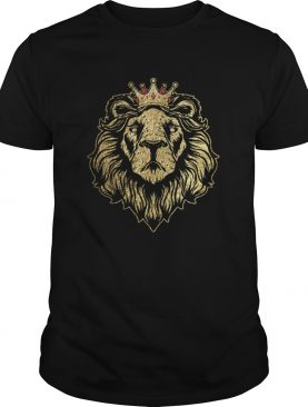 Gold King Lion Crown shirt