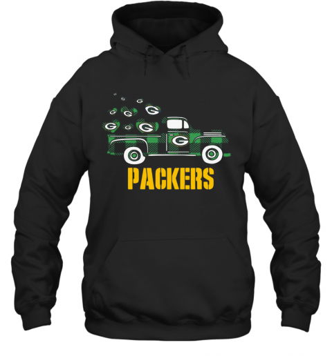 Love Car Green Bay Packers T-Shirt Unisex Hoodie