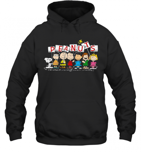 Peanuts Snoopy Marcie Charlie Brown Linus Lucy Peppermint Patty Sally T-Shirt Unisex Hoodie