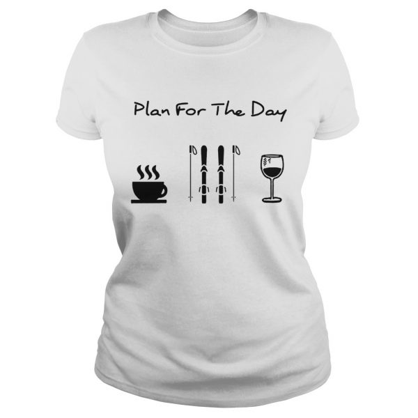 Plan For The Day Coffee Skiing And Wine  Classic Ladies