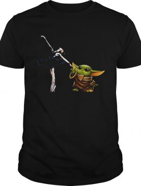 Star Wars Baby Yoda Holding Hand Bale Dancer shirt