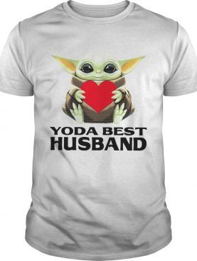 Star Wars Baby Yoda Hug Heart Best Husband shirt