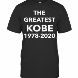 The Greatest Kobe 1978 2020 T-Shirt Classic Men's T-shirt