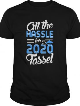 All the hassle for a 2020 tassel shirt