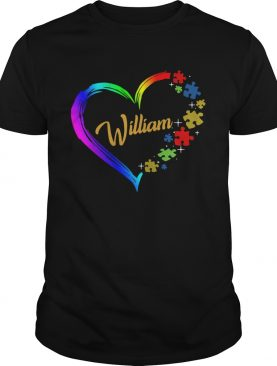 Autism Puzzle Heart Personalized shirt