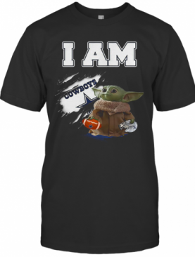 Baby Yoda I Am Dallas Cowboys Inside Me T-Shirt