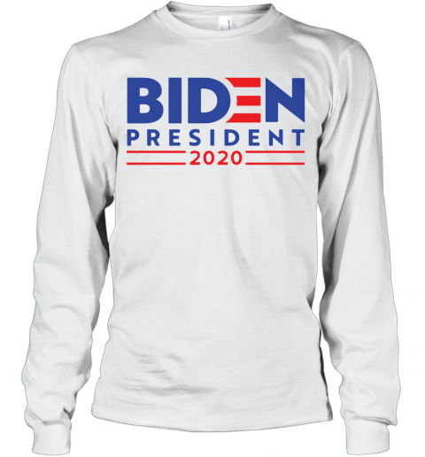 Bye Don Anti Trump Joe Biden 2020 T-Shirt Long Sleeved T-shirt