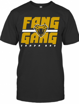 Fang Gang Tampa Bay Vipers XFL Officially Licensed T-Shirt