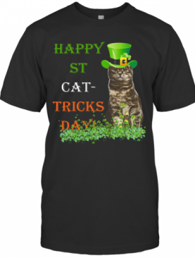 Happy St Cat Tricks Day T-Shirt